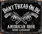 Mer info om DTOM American Iron Second Amendment  - Retro Skylt